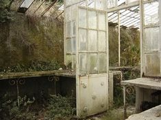 Abandoned Greenhouse by Kittyd-Stock on DeviantArt