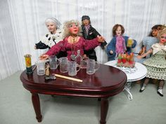 Poker Table, House, Dolls, Furniture, Home Decor, Baby Dolls, Decoration Home, Home, Room Decor