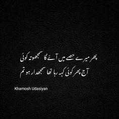 Urdu Quotes, Urdu Poetry, Feelings, Islamic