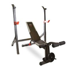 $175.24  (CLICK IMAGE TWICE FOR UPDATED PRICING AND INFO)  CAP Barbell Olympic Bench with Squat Rack. See More Squat Racks at http://www.zbuys.com/level.php?node=3848=squat-racks.