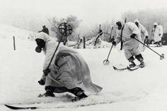 Finnish Ski Troops.