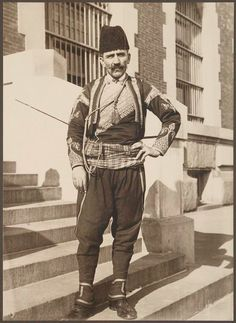 With a refugee and migrant crisis continuing around the world, it can be easy to forget those that came to the U.S. more than a century ago.  Between 1905 and 1914, registry clerk and amateur photographer Augustus Sherman snapped pictures of people arriving at the Port of New York at Ellis Island.  Turkish man.
