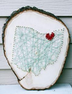 Feel LOVD Everyday state string art