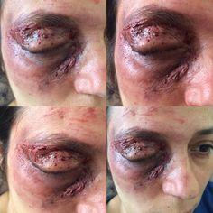 Horror makeup & hallowen makeup