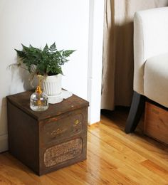 Tiny Apartment? Hide Potting Soil in Plain Sight: Gardenista
