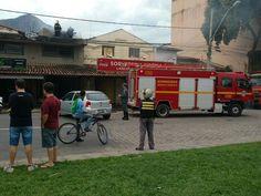 Incêndio atinge sorveteria em Governador Valadares, MG