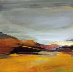 "Saatchi Art Artist Ute Laum; Painting, ""Abstract landscape Sylt I"" #art"