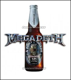 Megadeth's Frontman Dave Mustaine to Launch Megadeth Beer Dave Mustaine, Belgian Style, Wine And Liquor, Heavy Metal Bands, Hot Shots, Hard Rock, Brewery, Product Launch, Tours