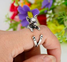 Chihuahua Wrap Ring – Lola's Pet Boutique