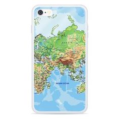 World Map Europe & Asia Smartphone Case by Shelfies World Map Europe, Are You The One, Smartphone, Asia, Iphone Cases, Travel, Voyage, Viajes, Traveling