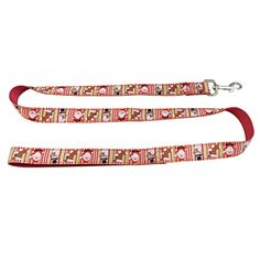Christmas Pet Leash for Small Medium Big Dog for Training Jogging Hiking Red with Snowman 120cm -- Additional details @