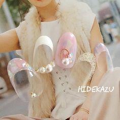 オールシーズン/デート/女子会/フレンチ/グラデーション - hidekazuのネイルデザイン[No.2472333]|ネイルブック