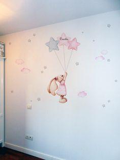 Cool Kids Rooms, Kids Room Paint, Baby Girl Room Decor, Baby Room, Love Wallpaper, Designer Wallpaper, Baby Zimmer, Baby Design, Vintage Pictures