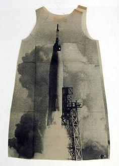 "The Metropolitan Museum of Art - ""Rocket"" | Harry Gordon (American) | Manufacturer: Poster Dress, Ltd. (British) | Date: 1968 | Culture: British"