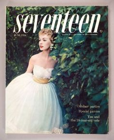June 1954 cover with Dolores Parker