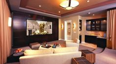 Interior: Fabulous Home Theater Room, home theater room pictures, home ...