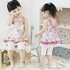 Korean Girl Clothes for Last Modified on Describe Korean Girl Clothes on LoveKidsZone. Cute Korean, Korean Girl, Little Fashion, Kids Fashion, Kids Outfits Girls, Girl Outfits, Cute Dresses, Flower Girl Dresses, Korean Summer