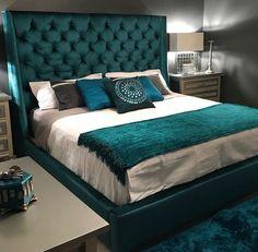 green bedroom look Bedroom Pop Design, Bed Design, Bedroom Green, Bedroom Decor, Bedroom Bed, Ivory Bedroom, Velvet Bedroom, Bedroom Ideas, Glam Bedroom