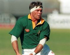 Tiaan Strauss captained the Springboks once in 1994. (Tertius Pickard / Gallo Images)
