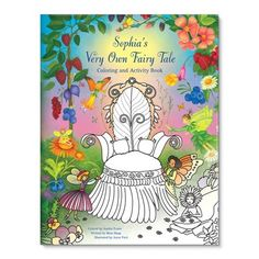 My Very Own Fairy Tale Coloring and Activity Book from See Me! Personalized Children's Books for your little fairy lover Fairy Coloring, Coloring For Kids, Coloring Books, Personalised Childrens Books, Personalized Gifts For Kids, Fairy Tales For Kids, Fairy Princesses, Color Activities, Children's Books