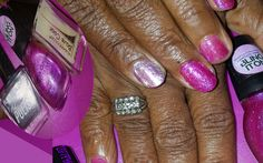 """Did My MoM-N-Laws #Manicure & #Polish Using:  #SinfulColors """"HIT THE DANCE GLOW""""  #LAcolors Silver  #KleanColor #BaseCoat   #FollowMe #LUVNAILSNICOLE on #youtube #pinterest #tumblr #wordpress  www.luvnailsnicole.wordpress.com www.instagram.com/luvnailsnicole/ www.facebook.com/luvnailsnicole   Google+"""