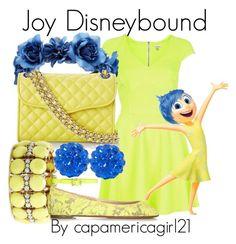 Joy Disneybound by capamericagirl21 on Polyvore