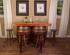 Barrel table | Etsy #barreltable,#reclaimedwoodcoffeetable,#winebarreltable,#whiskeybarreltable,#barrelendtable,#whiskeybarrelcoffeetable,#coffeetable,#barrelfurniture, #winebarrel,#winebarreltable, #whiskeybarreltable,#reclaimedwood Wine Barrel Bar, Barrel Table, Bourbon Barrel, Barrel Chair, Rustic Kitchen Design, Pub Table Sets, Wood Stool, French Oak, Wood Trim