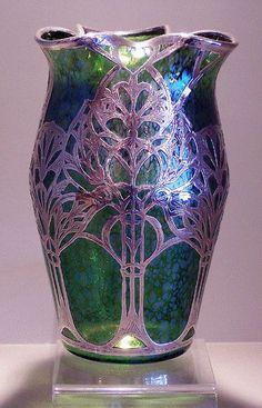 Loetz Vase. - Antique Art Glass -  ITEM STOLEN