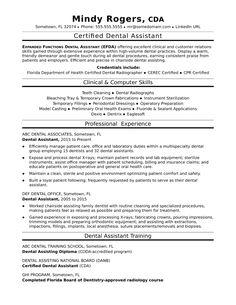8 Dental assistant Objective Resume 2