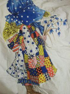 Hollie Hobbie Quilt Hollie Hobbie Handmade by SuzyQsVintageShop, $19.00