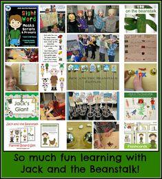 Jack and the Beanstalk: Comprehensive Resources! at PreK+K Sharing
