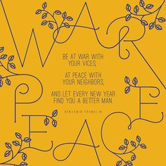 War/Peace | Herring & Haggis