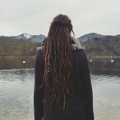 My Dreadlocks ♡ Instagram: dunkindonut__ Facebook: Anie Holzinger Fb Page: Dreads & More by Anie #dreads #dreadlocks #wonderlocks #locks #mountain #lake #hippie #boho #grunge #universohippie #gipsy #austria #girl #girlswithdreads #dreadladies #dreadjourney #travel #dreadshare #beautifuldreads #thick #dreads #long #dreads