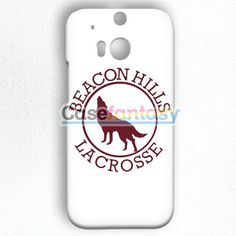 Beacon Hills Lacrosse White HTC One M8 Case | casefantasy