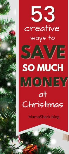 Check out these money saving hacks for a more budget-friendly Christmas! You can afford a fun family Christmas by spending less and saving more on Christmas gifts, Christmas decorations, and more. Plan to save and come out of Christmas debt free and having stuck to your Christmas budget with these creative ways to be frugal at Christmas. #planningafrugalChristmas #brokeatchristmas #holidaybudget