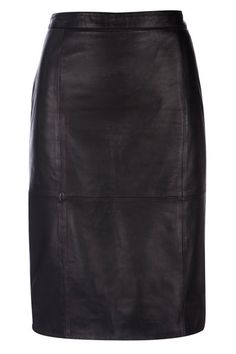 Black Leather Pencil Skirt , dressed up or down this will always turn heads Black Leather Pencil Skirt, Leather Skirt, Latest Fashion, Womens Fashion, Wallis, Fashion Dresses, Dress Up, Clothes For Women, My Style