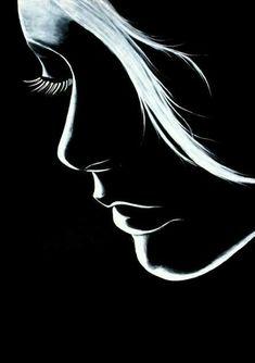 Dark Art Drawings, Pencil Art Drawings, Art Drawings Sketches, Arte Bob Marley, Cover Wattpad, Black Canvas Paintings, Paintings With Black Background, Black Paper Drawing, Dark Wallpaper