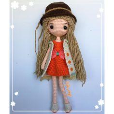 ❤️#handmade #crochet #amigurumi #gift #girl #jibsoya