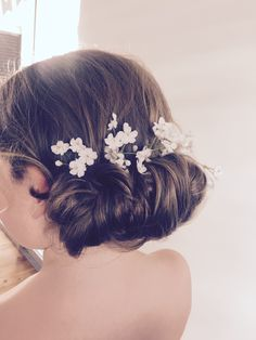 Flower girl prettiness! So cute! #hairbyrosie #wedding #flowergirl
