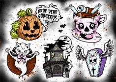 Halloween Flash ♥ Creep Heart