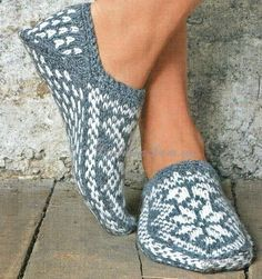 Crochet and Knitting Kits - Nordic Star Slippers Kit Knitting Projects, Crochet Projects, Knitting Kits, Knitting Patterns, Crochet Patterns, Knitted Slippers, Slipper Socks, How To Purl Knit, Knit Or Crochet