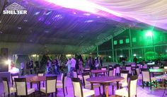 SHELTER 30x30m Luxury Wedding Marquee for Banquet