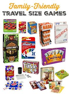 Travel with kids :: Our favorite travel board games and card games