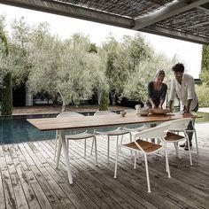Split Dining Table von Gloster Furniture