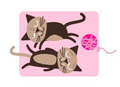 Kittens by Ed Miller Design, via Behance