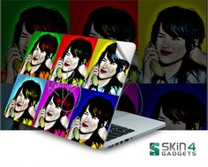 Skin4Gadgets KatyPerry Laptop Skin For 15 and 15.6 inch Laptop