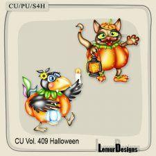 CU Vol. 409 Halloween Animals #CUdigitals cudigitals.com cu commercial digital scrap #digiscrap scrapbook graphics