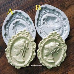 Resin Mold Flower 12 Count Jewelry Pendant Earrings Chocolate Fondant Plastic