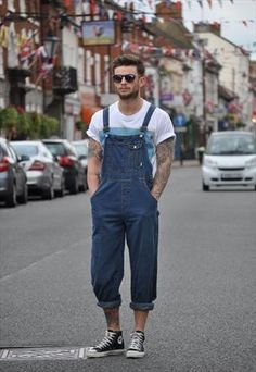 men in vintage dungarees - Yahoo Image Search results