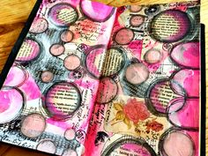 Midori art journal pages